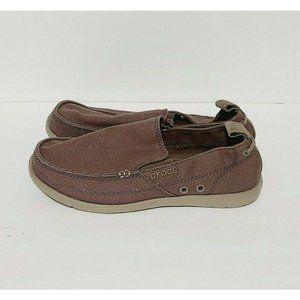 NEW Crocs Walu Slip On Loafers 11270 Size Mens 7